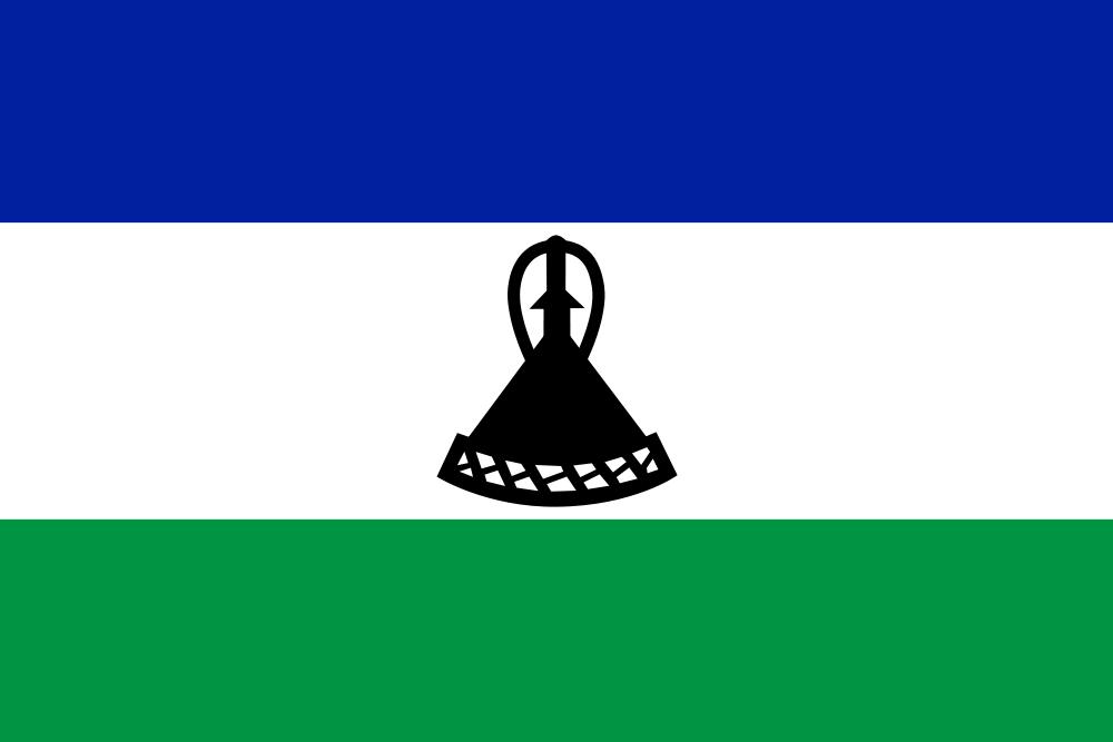 Lesotho Flag of Lesotho