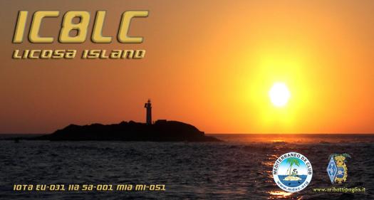 Остров Ликоза IC8LC Остров Сирен