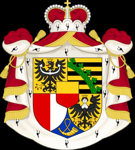 Лихтенштейн Герб Княжества Лихтенштейн