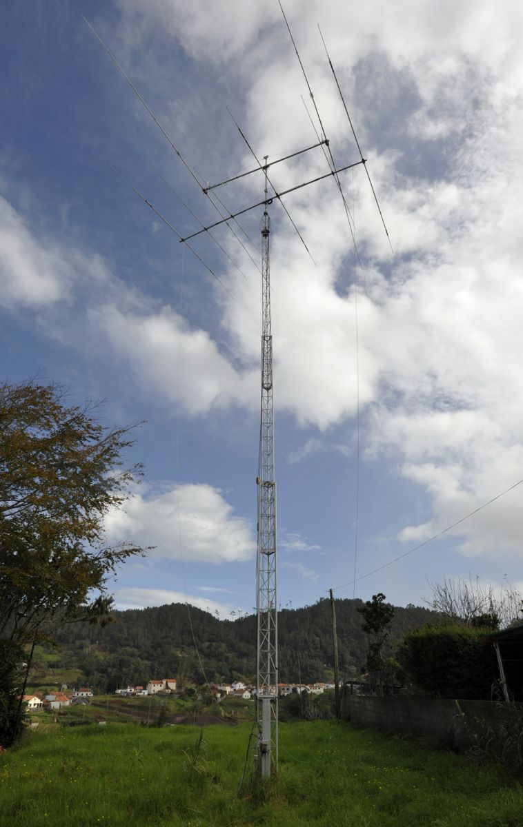 Madeira CR3L Antennas Tower