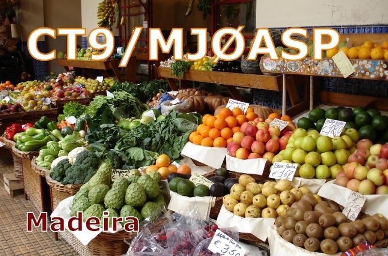 Madeira Island CT9/MJ0ASP