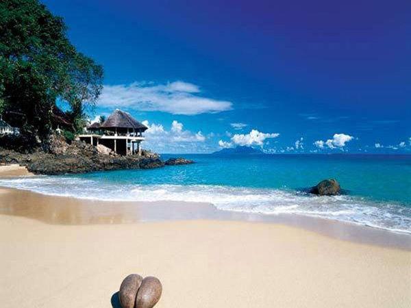 Mahe Island Seychelles S79NU Sunset Beach Hotel DX News