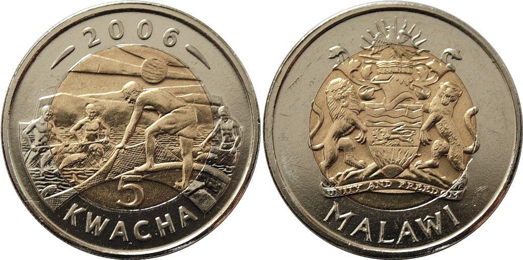 Малави 7Q7VW Монеты Республики Малави квачи