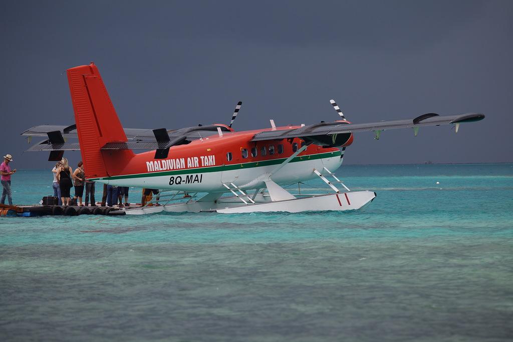 Мальдивские острова 8Q7ZB Воздушное Такси