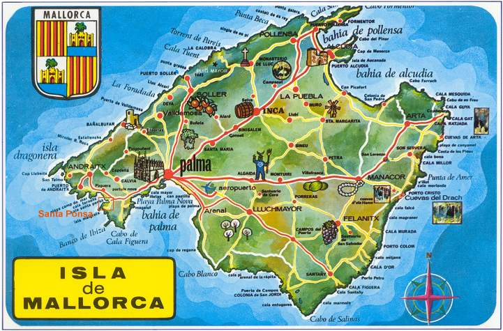 Mallorca Island EA6/G4MKP DX News