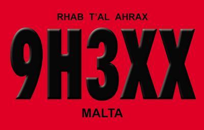 ������ 9H3XX QSL