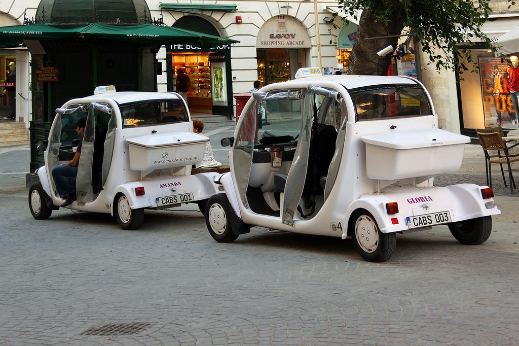 Мальта 9H9OB Такси Кэбы