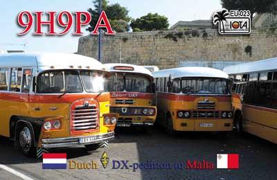 Мальта 9H9PA
