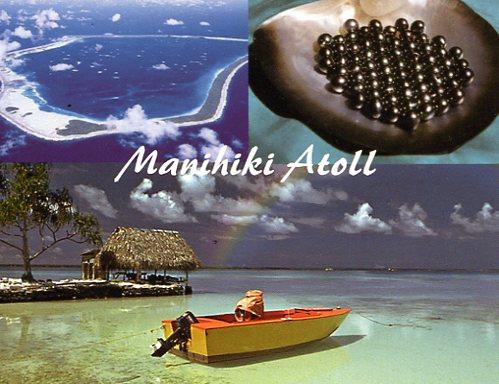 Остров Манихики Северные острова Кука E51M Жемчужные плантации