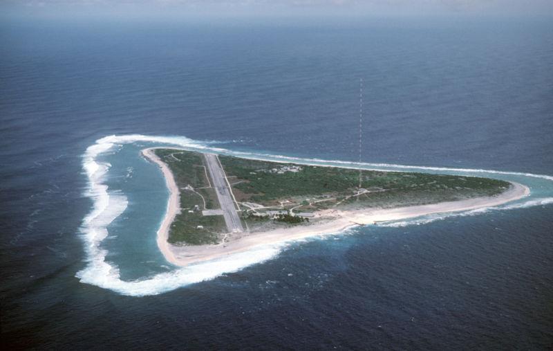 Остров Маркус Острова Минами Торишима JG8NQJ/JD1