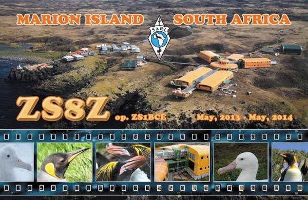 Marion Island ZS8Z QSL