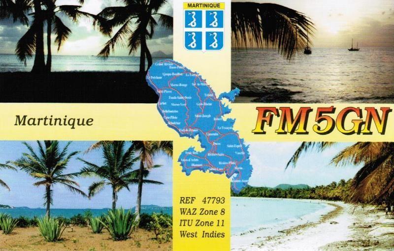 Остров Мартиника FM/F5GN