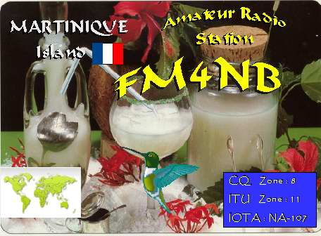 Martinique FM4NB