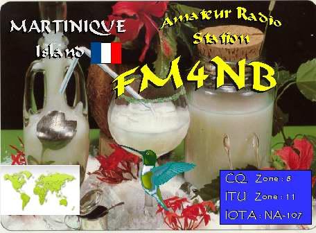 Martinique FM4NB