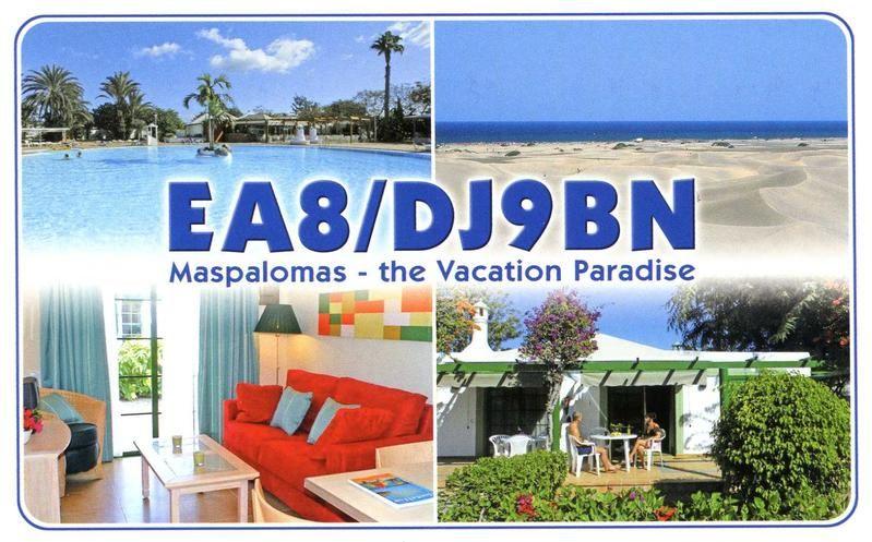 Маспаломас остров Гран Канария EA8/DJ9BN