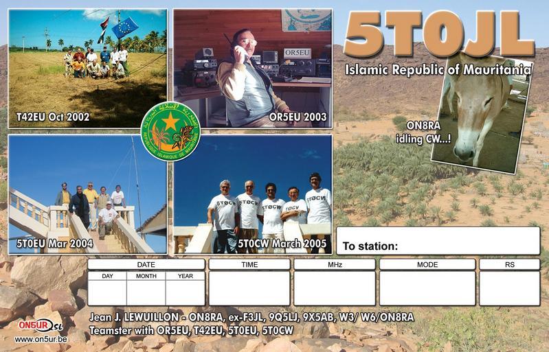 Мавритания 5T0JL