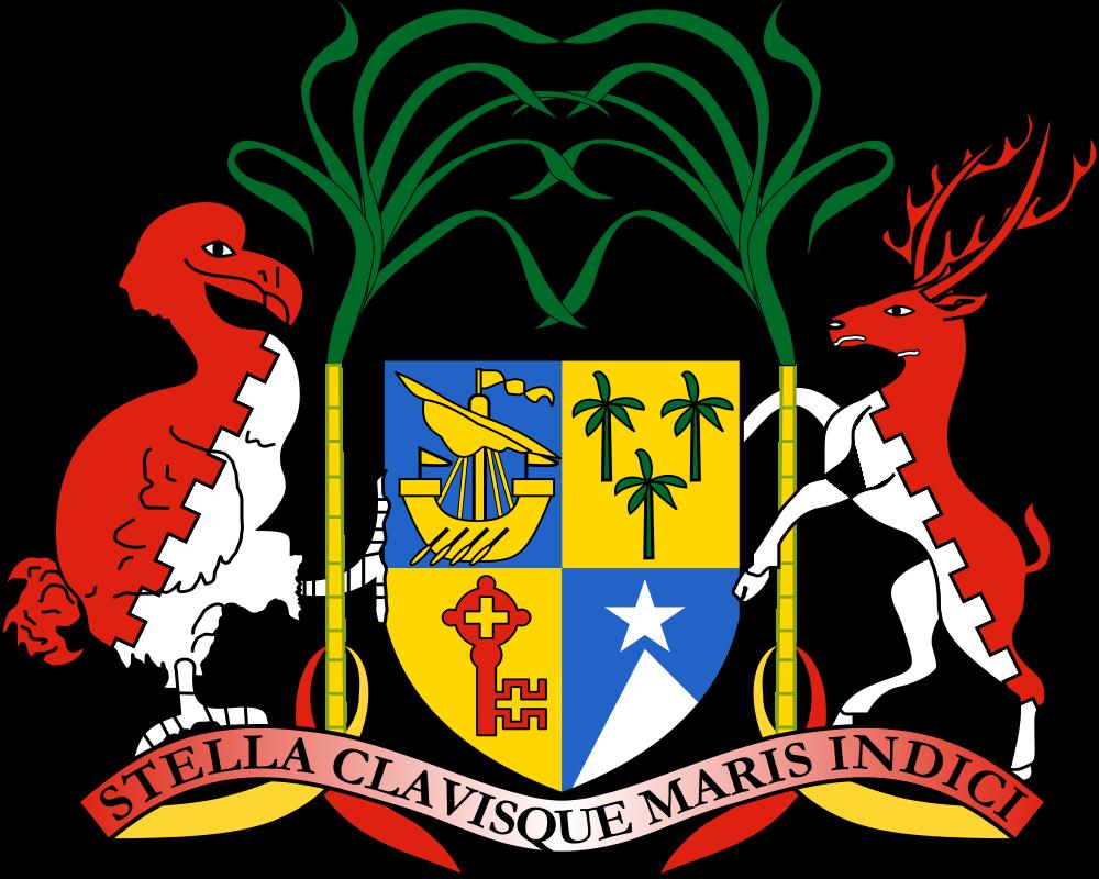 Mauritius Island Coat of arms of the Mauritius