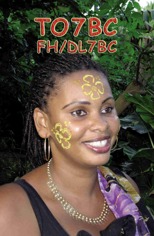 Mayotte Island TO7BC 2013 QSL