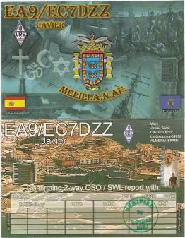 Мелилья EA9/EC7DZZ