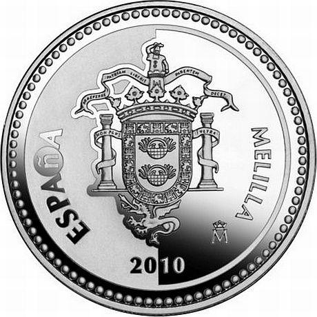 Мелилья EA9/IK4ALM EA9/IK4WJU DX Новости Монета 1 Евро