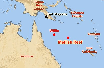 Mellish Reef 2014