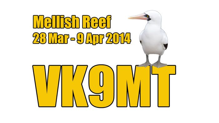 Mellish Reef VK9MT