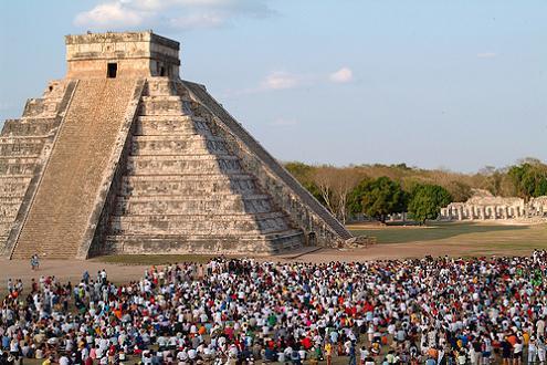 Мексика XE1/DJ4EL Пирамида Майя