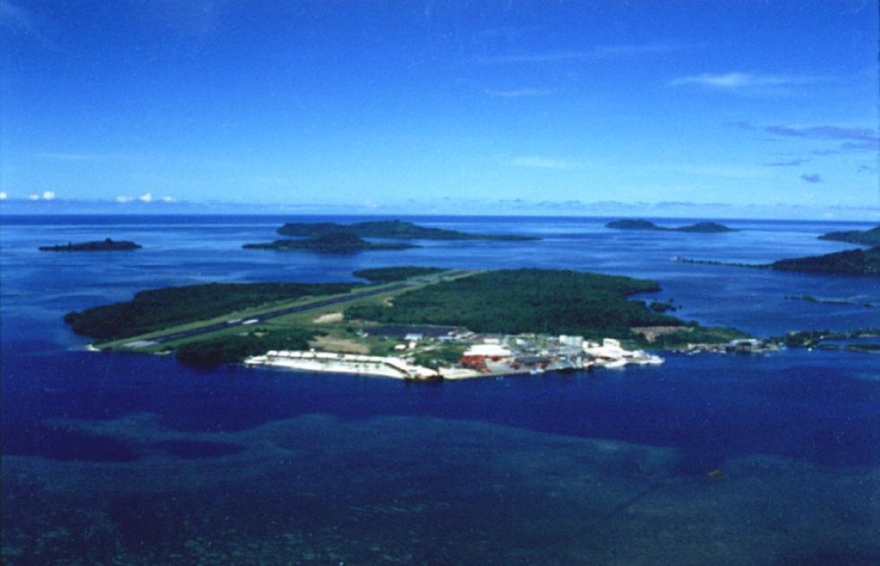 Микронезия Остров Понпеи Аэропорт V63AZ