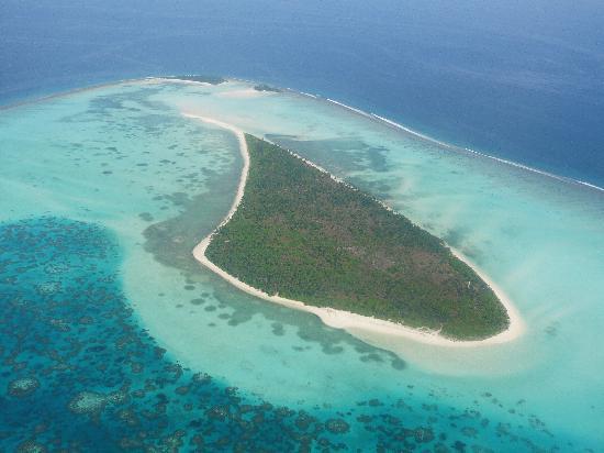 Остров Миникой VU7M