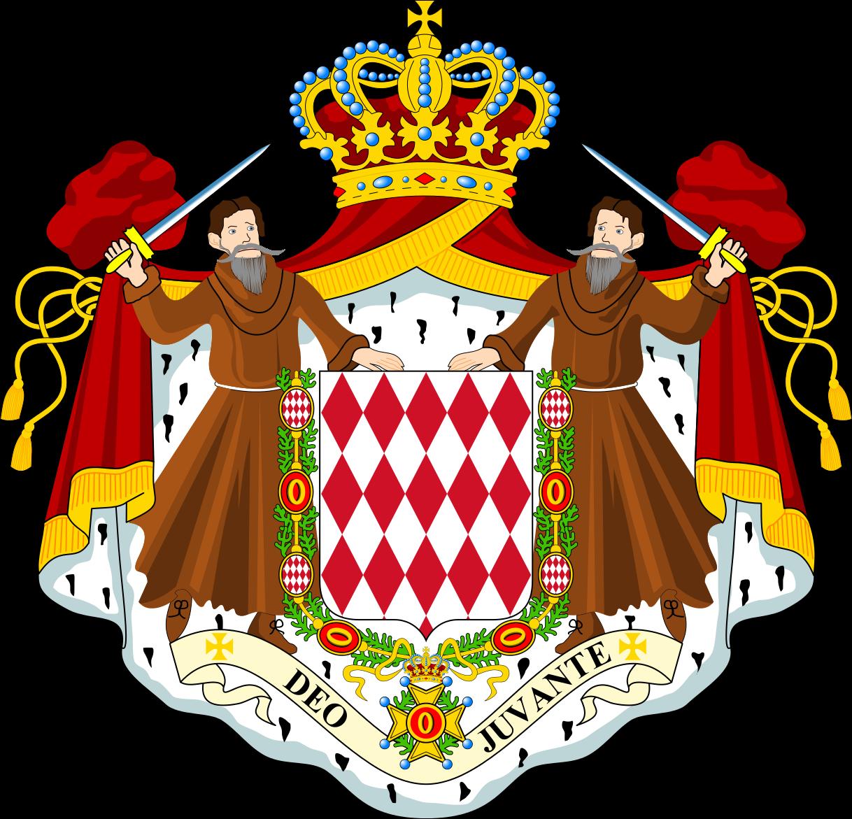 Monaco Coat of Arms Monaco 3A/I2GPT