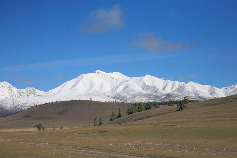Монголия JT5DX Горы
