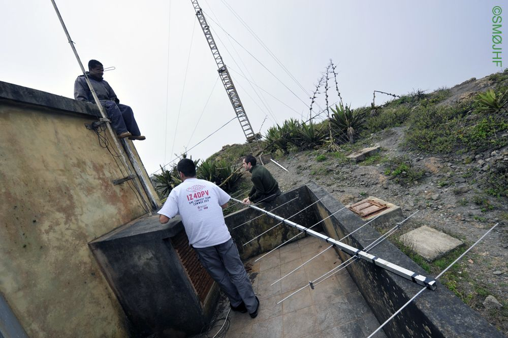 Монте Верде Кабо Верде D4C Антенна на 144 мГц