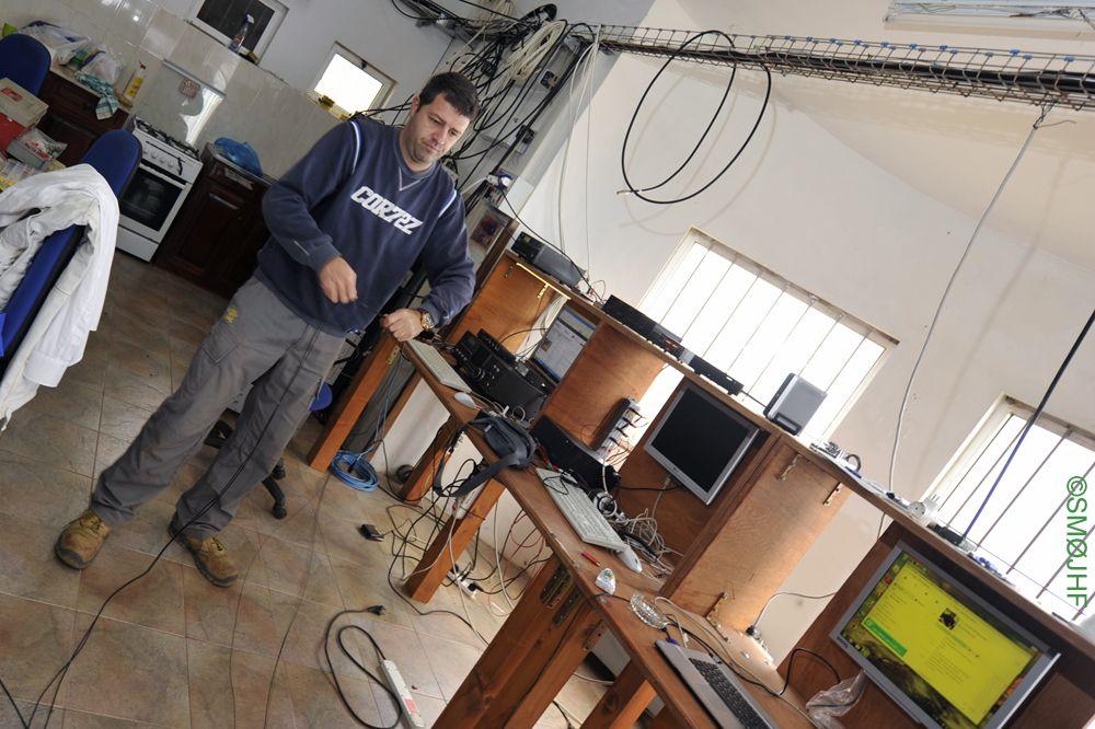 Monte Verde D4C IZ4DPV Preparing Radials