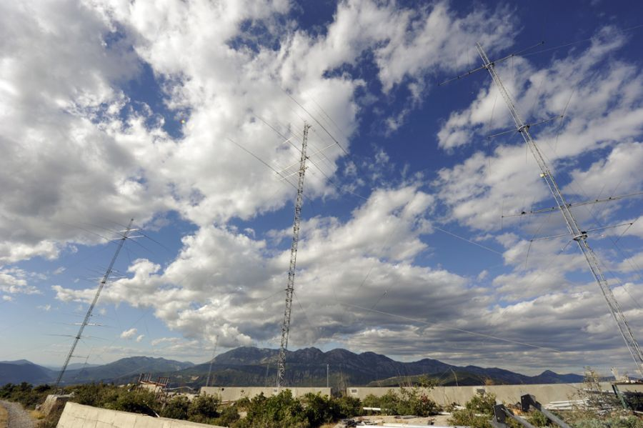 Montenegro 4O3A 3 Rotary towers