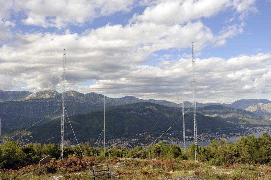Черногория 4O3A 4SQ антенна