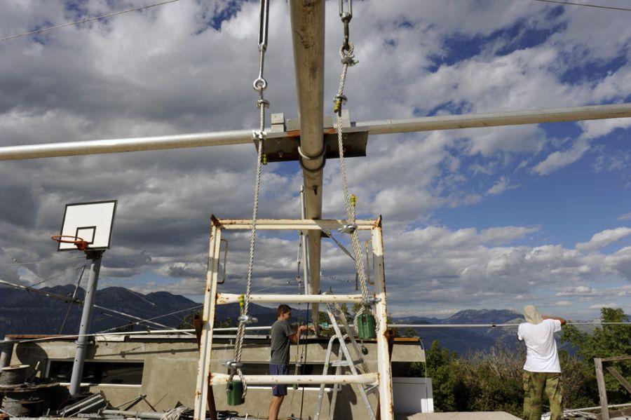 Montenegro 4O3A 7 Mhz array antenna