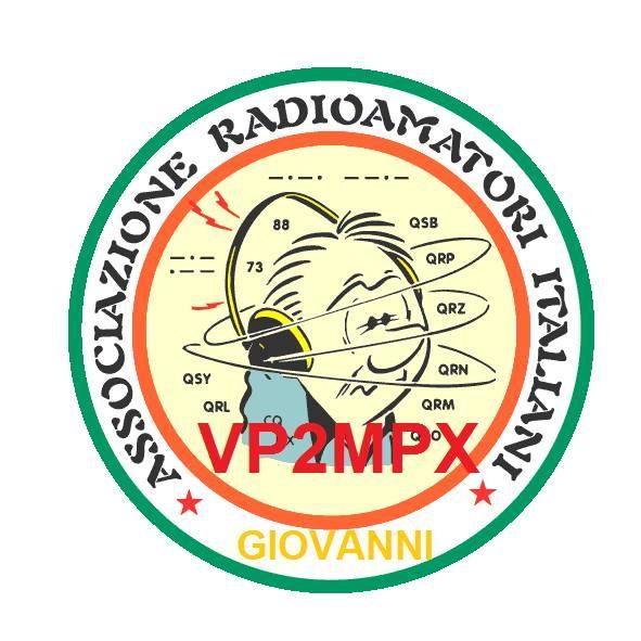 Montserrat Island VP2MPX Logo