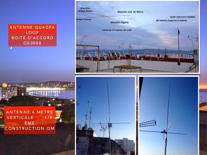 Morocco CN2GW Antennas