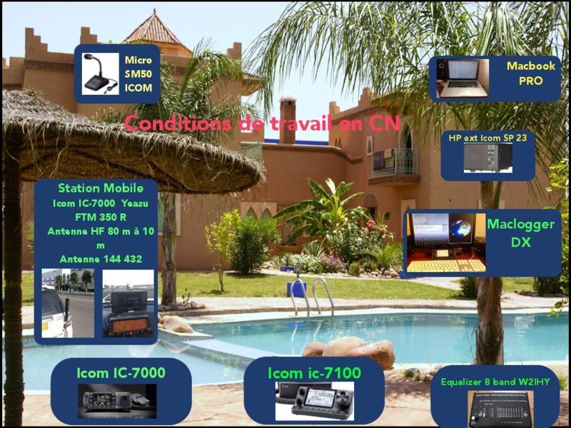 Morocco CN2GW Equipment