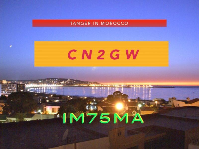 Morocco CN2GW Tanger