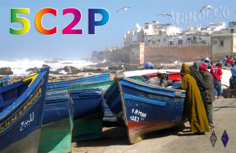 Morocco DX News 5C2P