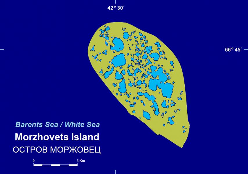 Morzhovets Island RI1O DX News