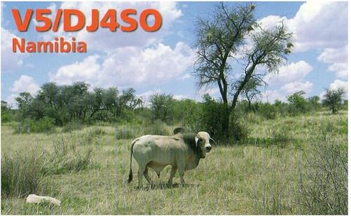 Намибия V5/DJ4SO 2011