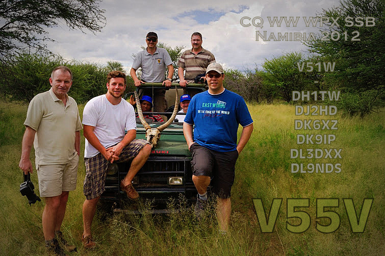 Namibia V55V V5/DK9IP DX News