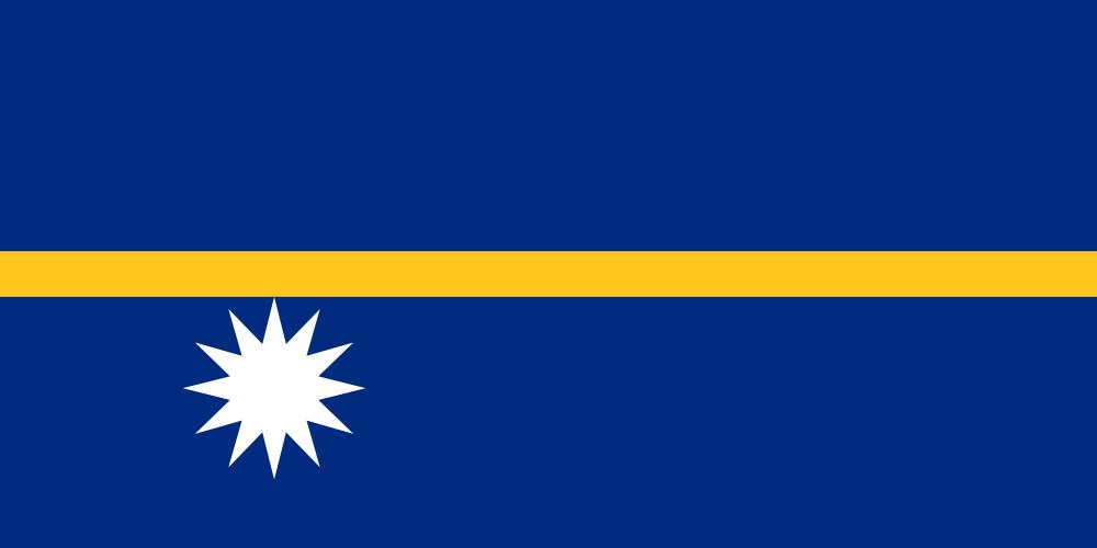 Науру Флаг Науру