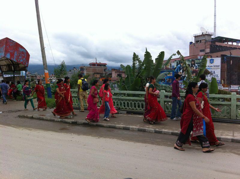 Непал 9N7LX Праздник Хай Тайка