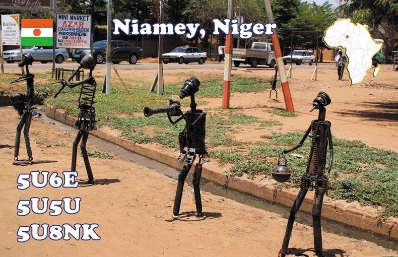 Niger 5U6E 5U5U 5U8NK QSL Niamey