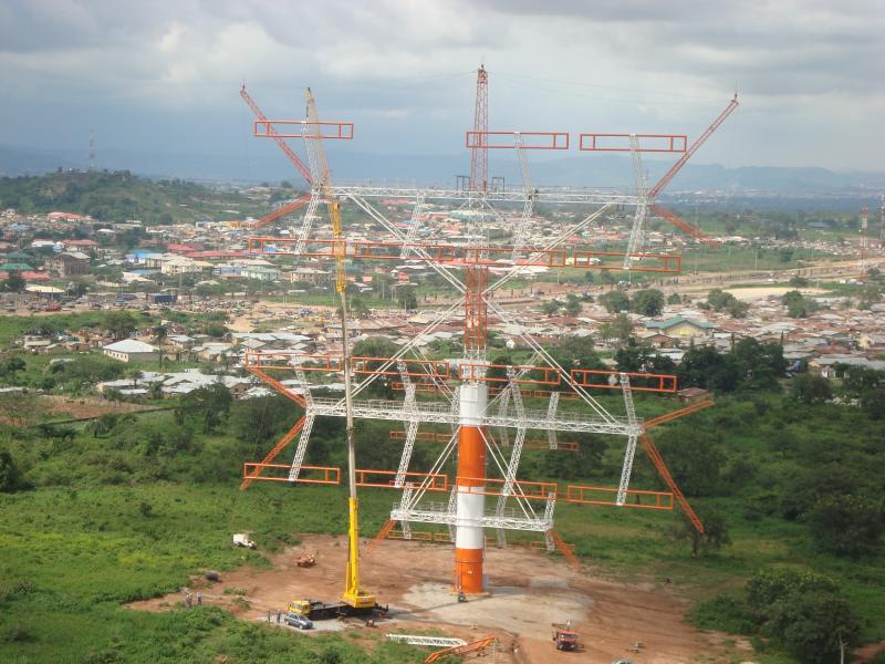 Нигерия 5N7Q Самая Большая КВ Антенна в Мире