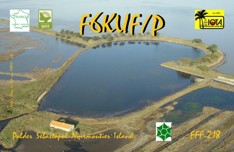 Noirmoutier Island F6KUF/P
