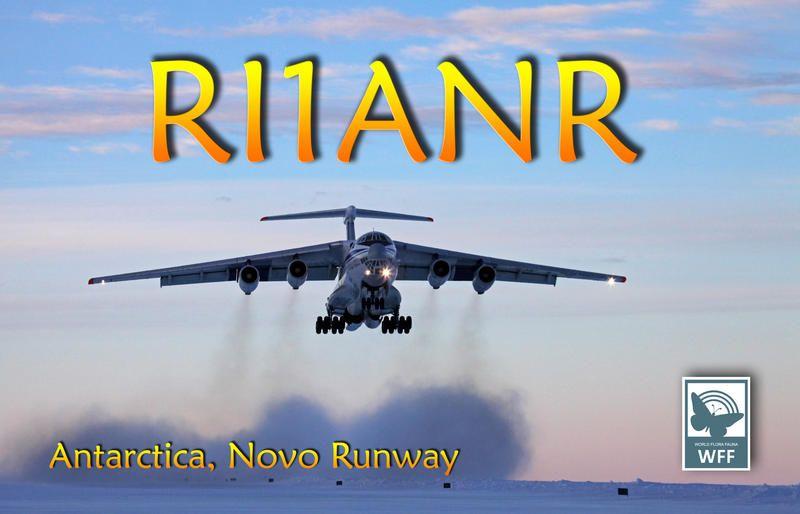 Novo Runway Novolazarevskaya Base Antarctica RI1ANR
